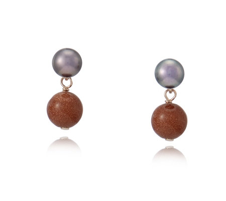 Lola Rose Tess Semi Precious Earrings