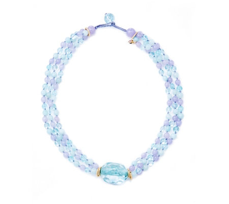 Lola Rose Nina Semi Precious 50cm Necklace
