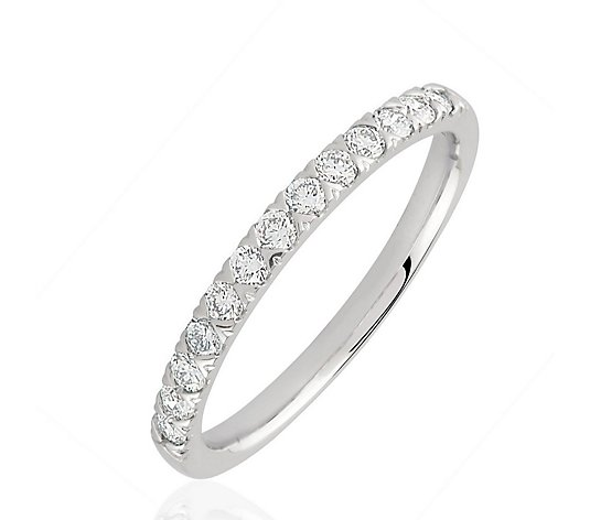 0.33ct H SI2 Fire Light Lab Grown Diamond Eternity Ring 18ct Gold