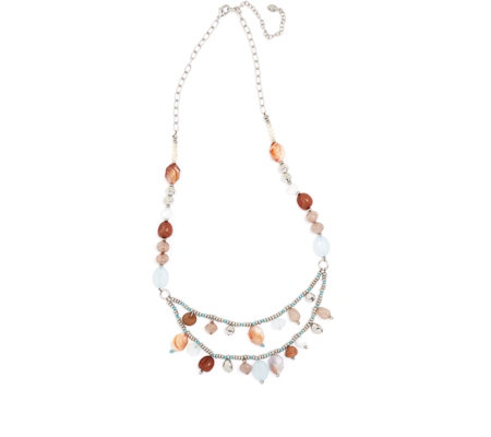 Together Multi Stone Necklace