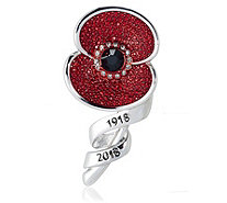 The Poppy Collection Centenary Scroll Brooch - 332740
