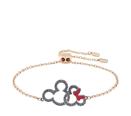 Swarovski Disney Mickey & Minnie Bracelet