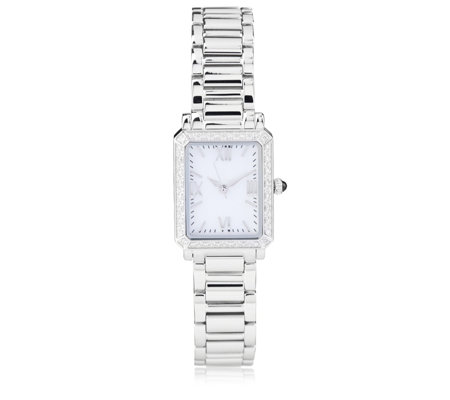 0.25ct Diamond Set Watch Stainless Steel