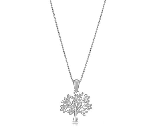 Clogau Tree of Life 55.9cm Necklace 9ct Rose Gold & Sterling Silver