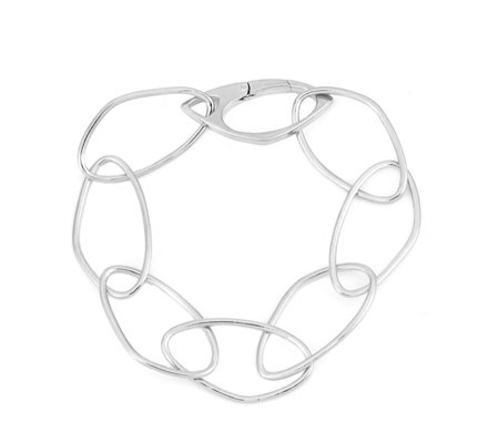 K by Kelly Hoppen Capri Hero 22cm Bracelet Sterling Silver