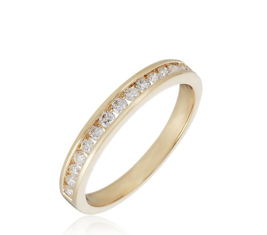 0.33ct VS Diamond Channel Set Eternity Ring Platinum