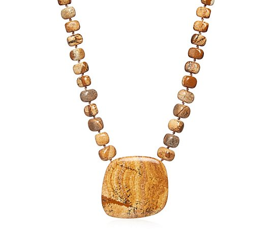 Lola Rose Alvar Semi Precious 41cm Necklace