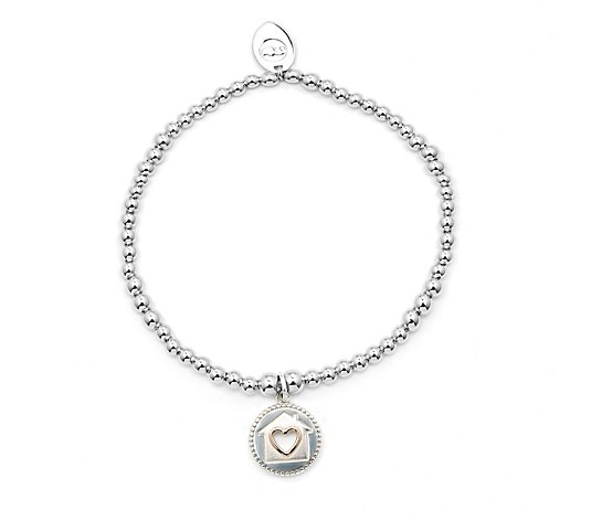 Clogau Home Is Where The Heart Is Affinity Beaded Bracelet