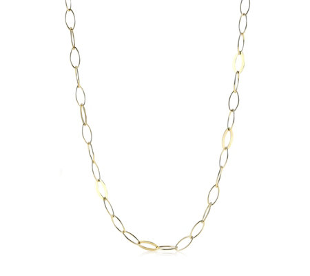 K by Kelly Hoppen Capri Oval Hero 90cm Chain Sterling Silver