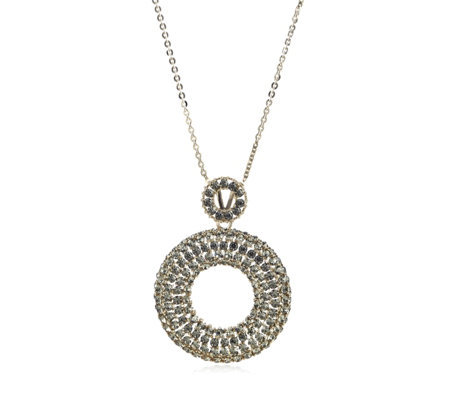 Frank Usher Crystal Ring 80cm Necklace