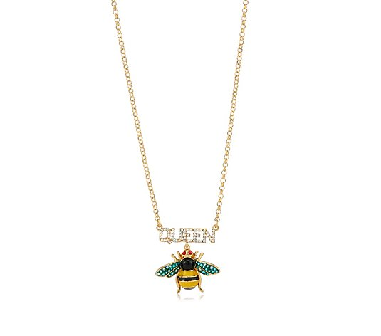 Butler & Wilson Queen Bee Necklace