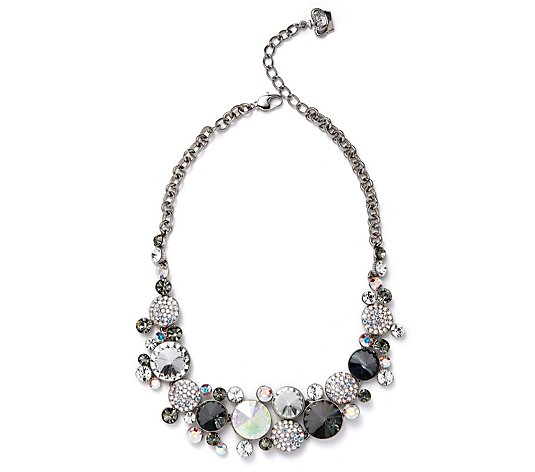 Butler & Wilson Circle Stones 40cm Necklace