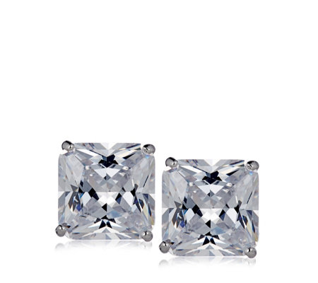 Michelle Mone for Diamonique 12.8ct tw Earrings Sterling Silver