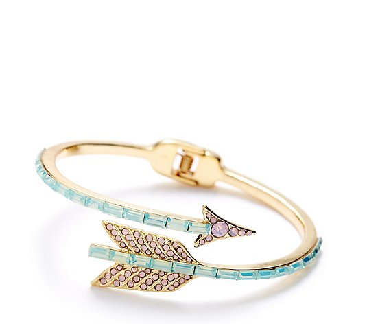 Butler & Wilson Crystal Arrow Bracelet