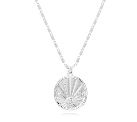Kate Thornton for Bibi Bijoux Affirmation Sunray Disk 48cm Necklace