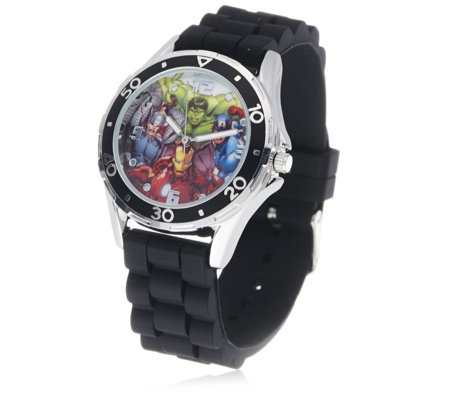 Disney Avengers Rubber Strap Watch