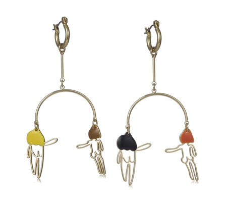 Anne Lahn for Pilgrim Girls Earrings