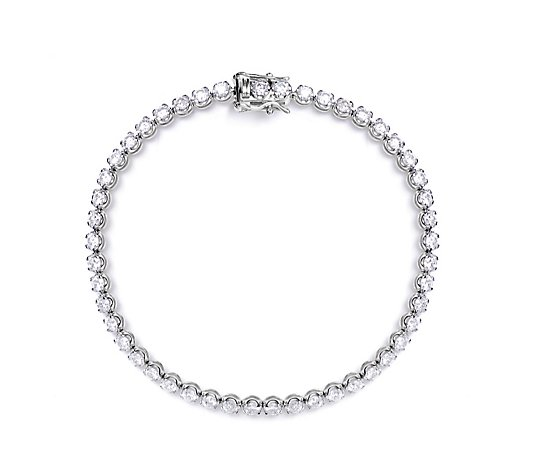 4.00ct Diamond Tennis 19cm Bracelet 14ct Gold
