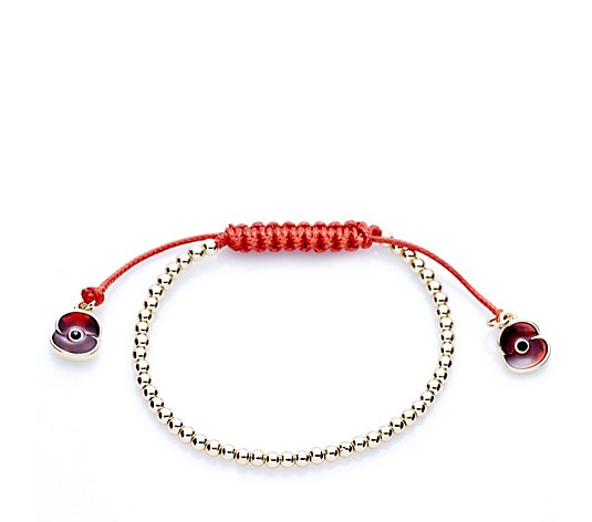 The Poppy Collection Bead Friendship Bracelet by Buckley London