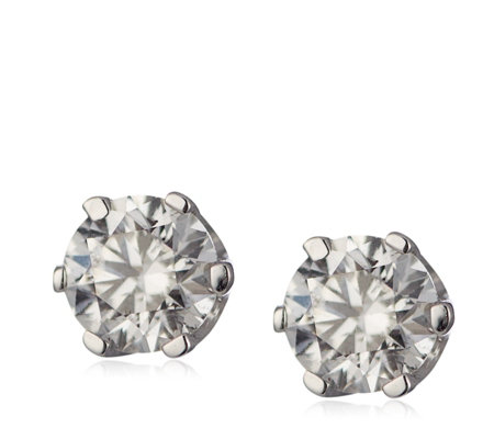 0.50ct Certified Diamond Stud Earrings 9ct Gold