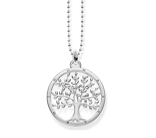 Thomas Sabo Glam & Soul Tree of Love 45cm Necklace Sterling Silver