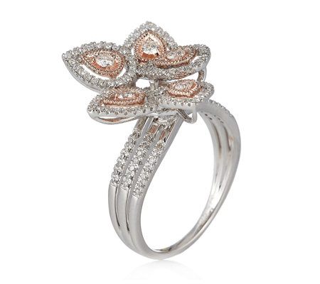0.54ct Diamond Cocktail Ring 9ct Gold