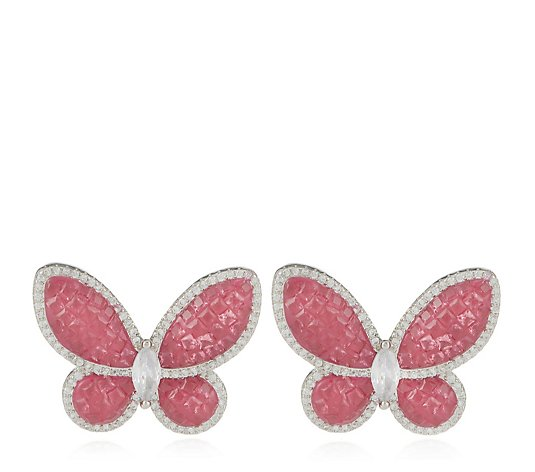 Butler & Wilson Butterfly Earrings