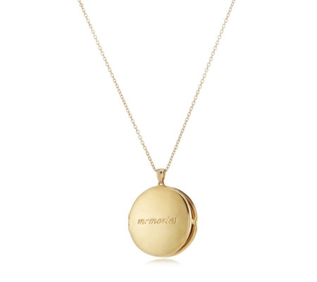 K by Kelly Hoppen Capri Memories Locket 70cm Necklace Sterling Silver
