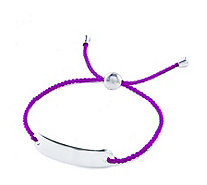 Links of London Friendship Cord Bracelet Sterling Silver - 328754
