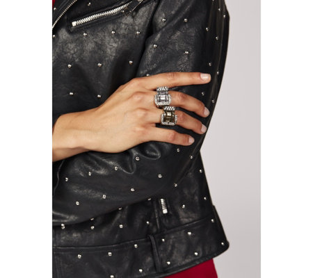 Sparkle Buckle Stretch Ring
