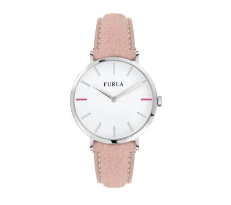 Furla Ladies Giada Leather Strap Watch