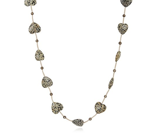 "Lola Rose Semi Precious Turkana 50"" Necklace"