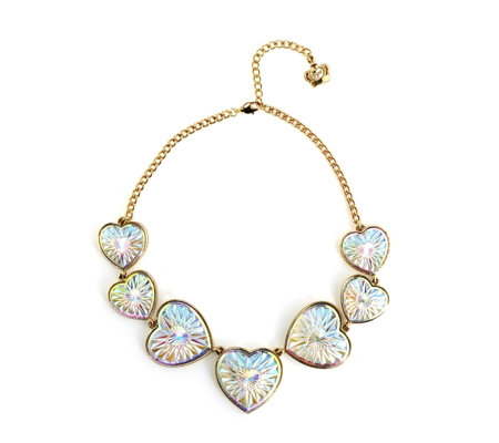 Butler & Wilson Hearts 42cm Necklace