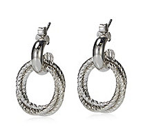 Links of London Aurora Hoop Earrings Sterling Silver - 309657