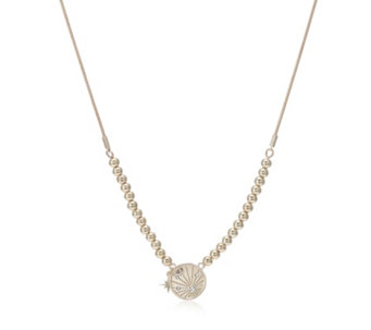 Kate Thornton for Bibi Bijoux Affirmation Friendship Ball Bead Necklace - 343458