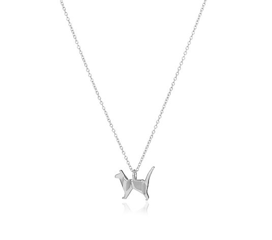 Ophia Origami Animal 45cm Necklace Sterling Silver