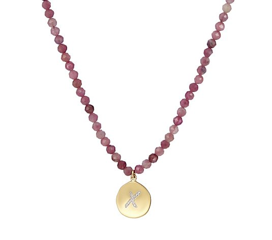 Lola Rose Curio Kiss Semi Precious Charm 45cm Necklace