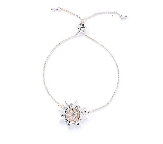 Kate Thornton for Bibi Bijoux Sparkle Centre Sunray Friendship Bracelet