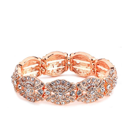 Loverocks Crystal Stretch Bracelet