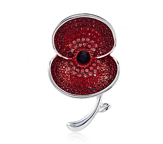 The Poppy Collection Ombre Sparkle Brooch
