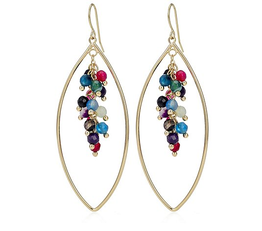 Lola Rose June Semi Precious Earrings