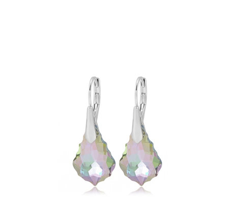 d4256df66 Aurora Swarovski Crystal Baroque Leverback Earrings - QVC UK