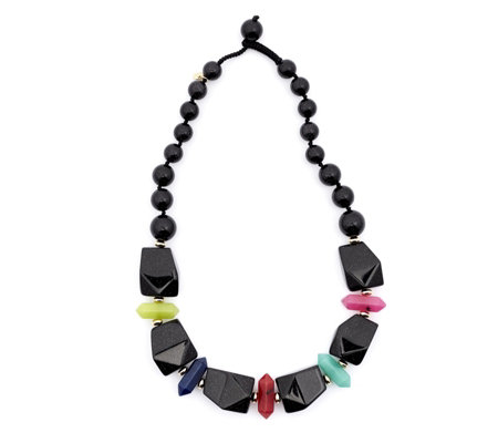 Lola Rose Nikki Loves Semi Precious Luxitude Nugget Necklace