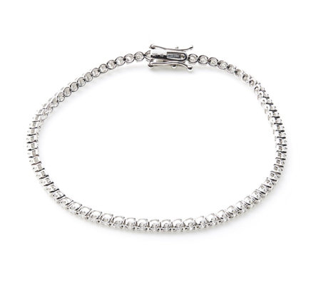 1ct Classic Diamond Tennis Bracelet 9ct Gold