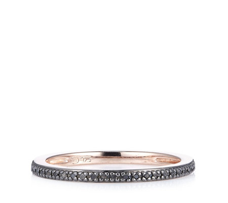 Lisa Snowdon Diamond 1/2 Eternity Ring Sterling Silver
