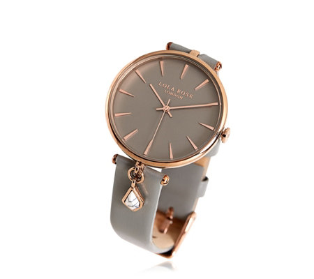Lola Rose Semi Precious Charm Watch