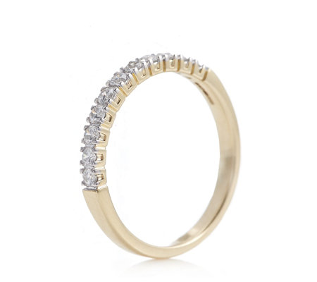 0.33ct SI2 Canadian Diamond Eternity Ring 9ct Gold