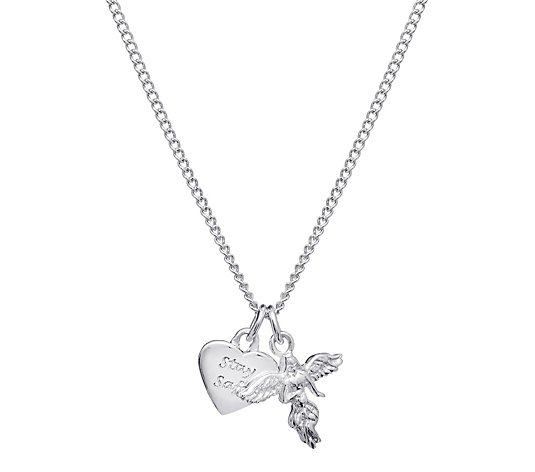 Annie Haak My Guardian Angel 45cm Necklace Sterling Silver