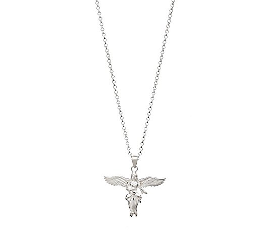 Annie Haak Gili My Guardian Angel 90cm Necklace Sterling Silver