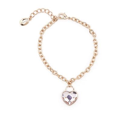 Aurora Swarovski Crystal Heart Bracelet